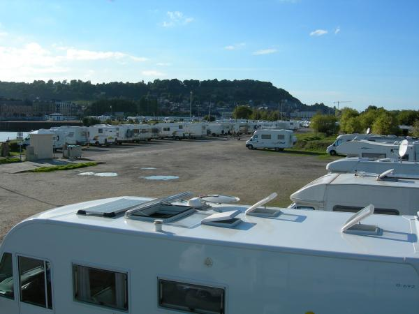 Parking Camping Car Le Bourget